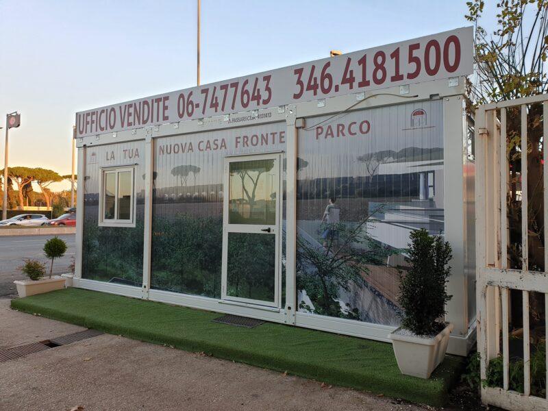 Allestimento Box Ufficio Vendite Parco Degli Acquedotti